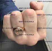 Кольцо Разведрота (позолота)